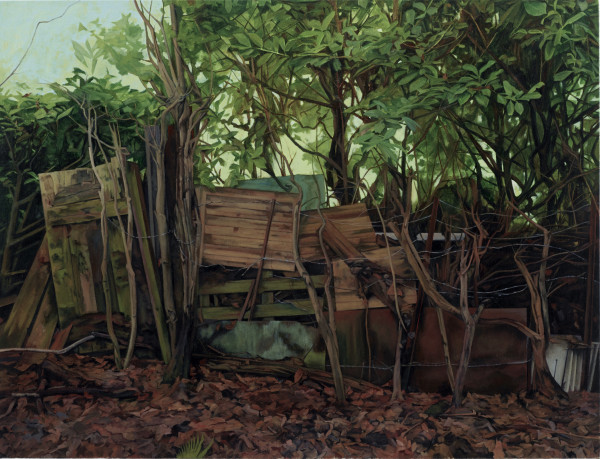 George Shaw, The Border, 2018