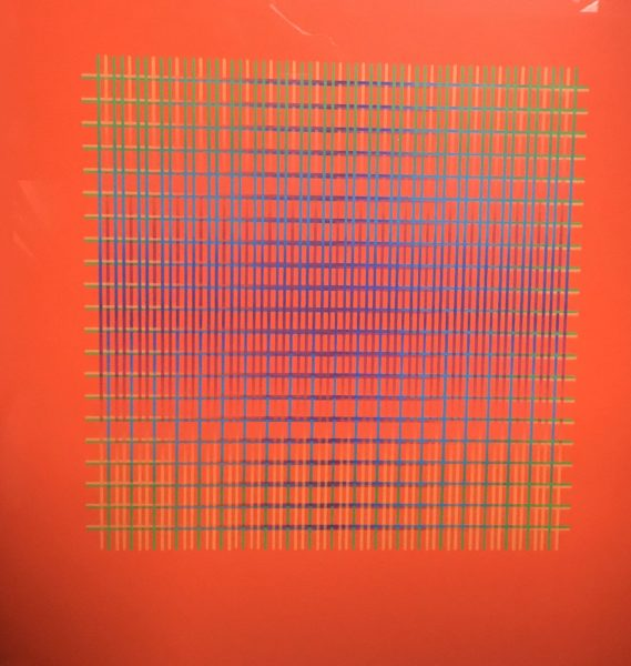 Julia Atkinson, Interchange - Series 14 - Vermillion, 1977