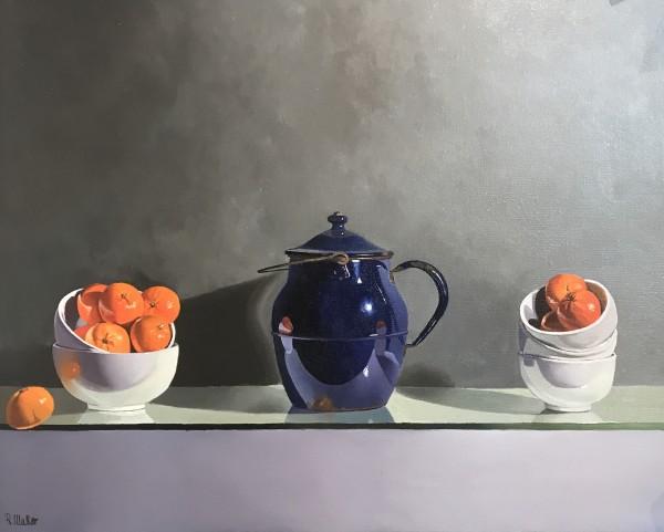 Robert Walker, White Bowls, In Hong Kong