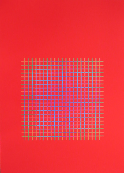 Julia Atkinson, Interchange - Series 11 - Red, 1975