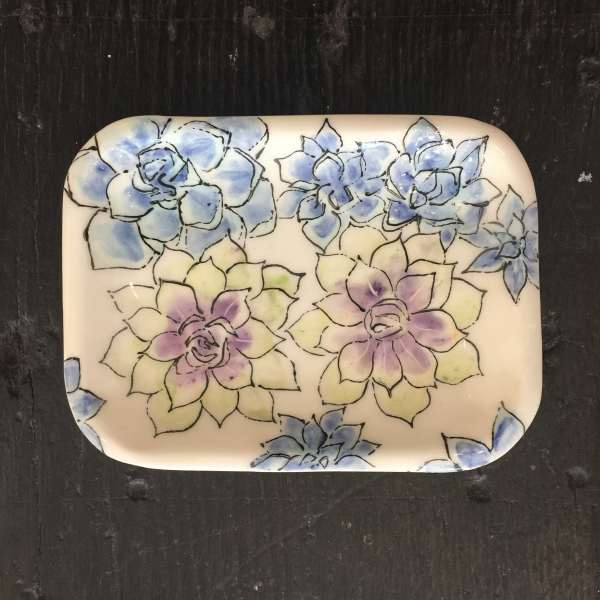 Kerry Edwards, Small Succulents Dish