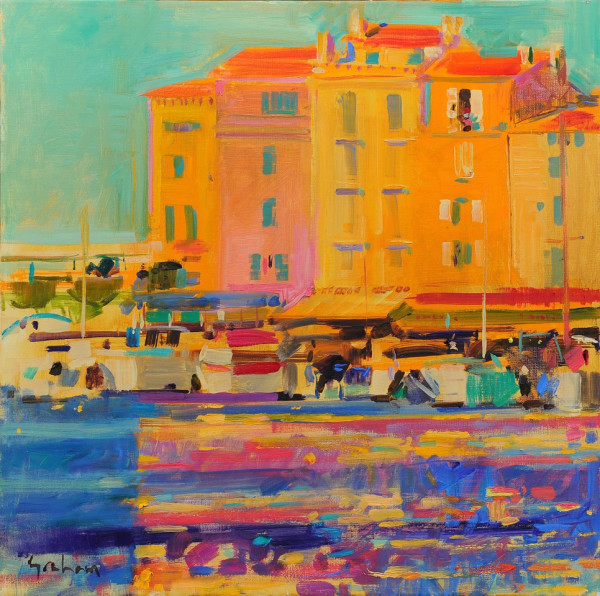 Peter Graham, Late Afternoon, Saint Tropez
