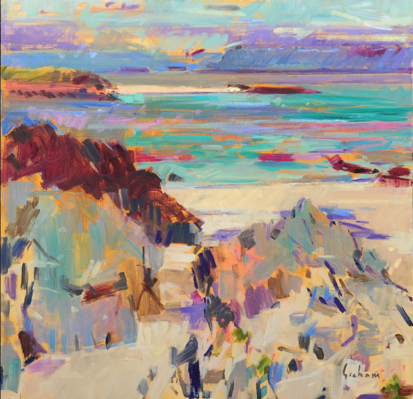 Peter Graham, Iona and Mull