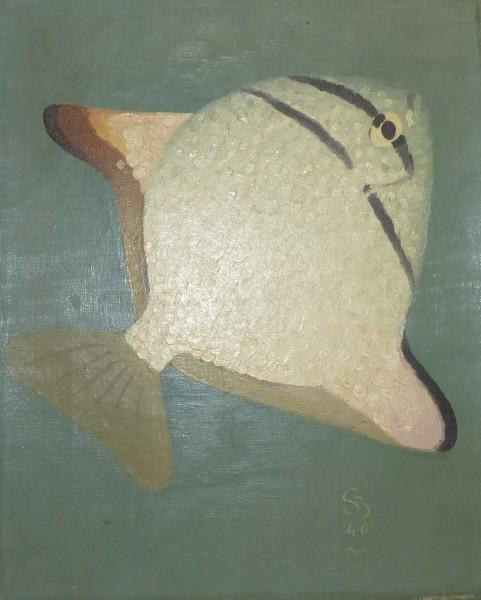 Simon-Albert Bussy, Poisson Argent, 1946