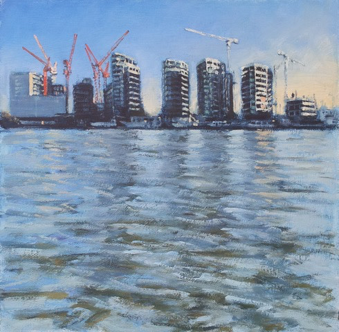 Ben Hughes, Construction on the Thames