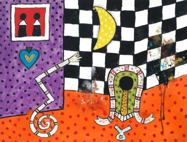 Alan Davie RA, Witch Wall No.3