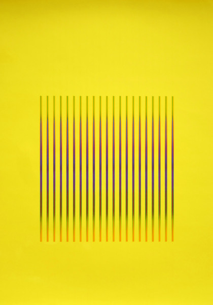 Julia Atkinson, Interchange - Series 23 - Yellow, 1975