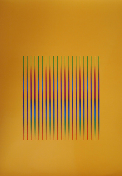 Julia Atkinson, Interchange - Series 23 - Orange, 1975