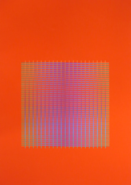 Julia Atkinson, Interchange - Series 13 - Vermillion, 1977