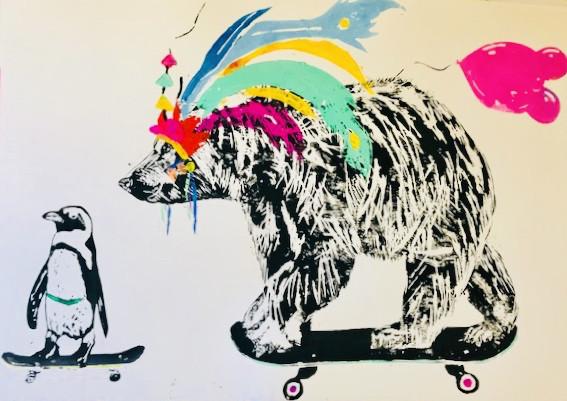 Millie McCallum, Bear & Penguin