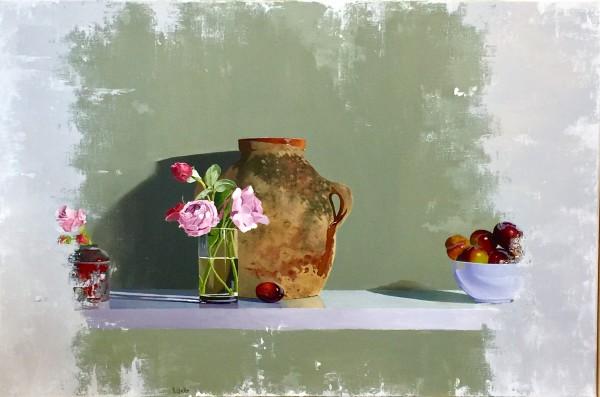 Robert Walker, Roses with Plums, In Hong Kong