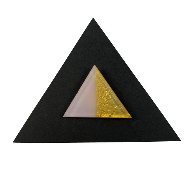 Geometric Glass Pin