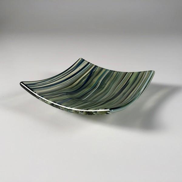 Pastel Cane Dish (Green Tea) 03