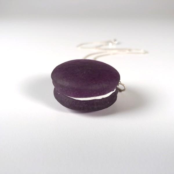 Violet Macaron Necklace