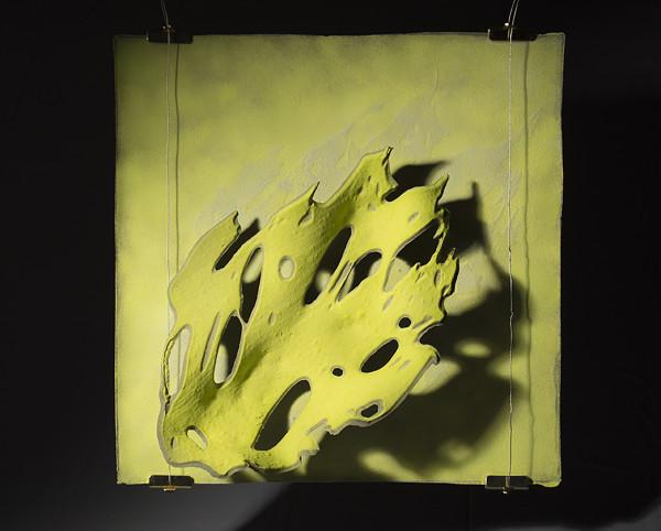 Tomoko Abe, Green Leaf/Grey Leaf, 2018