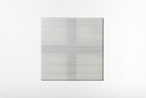 Cobi Cockburn, In the Vicinity of White (Grid) #4, 2018