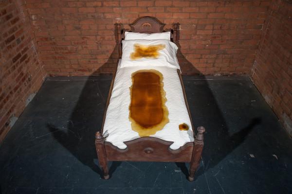 Allyssa Burch, Honey Bed, 2018