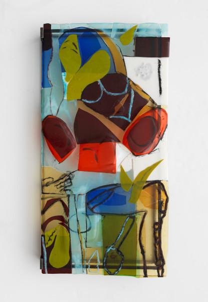 Jessica Jackson Hutchins, Paw Print, 2017