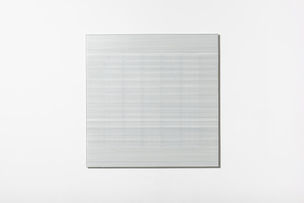 Cobi Cockburn, In the Vicinity of White (Grid) #5, 2018