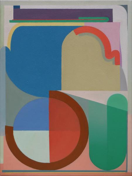 Bernhard Buhmann The Ambusher, 2019 Oil on canvas 57 x 42 cm 22 1/2 x 16 1/2 in