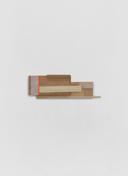 Sarah Almehairi Building Blocks 5, Series 1, 2019 Acrylic on wood 39.5 x 14.5 x 5.1 cm 15 1/2 x 5 3/4 x 2 1/8 in