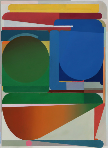 Bernhard Buhmann The Gossiper, 2018 Oil on canvas 200 x 145 cm 78 3/4 x 57 1/8 in