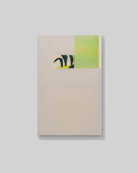 Sarah Almehairi Corn Field, 2019 Acrylic on canvas 140 x 90 cm 55 1/8 x 35 3/8 in