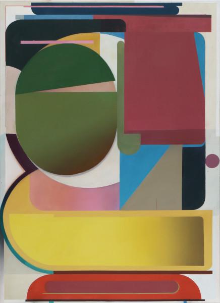 Bernhard Buhmann Karate Kid, 2018 Oil on canvas 200 x 145 cm 78 3/4 x 57 1/8 in