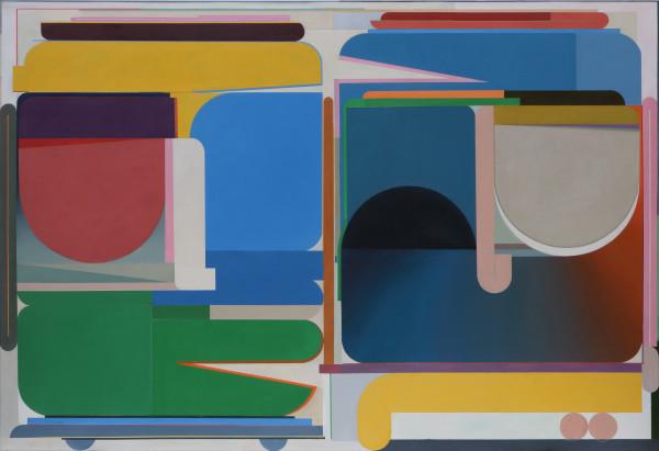 Bernhard Buhmann Two Princes, 2018 Oil on canvas 200 x 290 cm 78 3/4 x 114 1/8 in