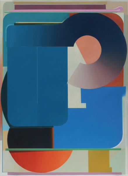 Bernhard Buhmann The Chaser, 2018 Oil on canvas 200 x 145 cm 78 3/4 x 57 1/8 in