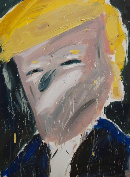 Amir Khojasteh Untitled (Leader #6), 2019 Oil on canvas 53 x 40 cm 20 7/8 x 15 3/4 in