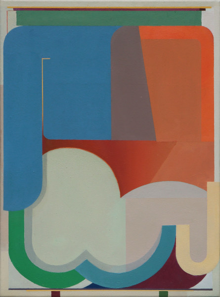Bernhard Buhmann Headless, 2019 Oil on canvas 57 x 41 cm 22 1/2 x 16 1/8 in
