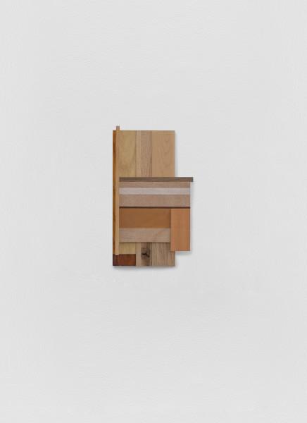 Sarah Almehairi Building Blocks 4, Series 1, 2019 Acrylic on wood 36 x 21 x 4.2 cm 14 1/8 x 8 1/4 x 1 5/8 in