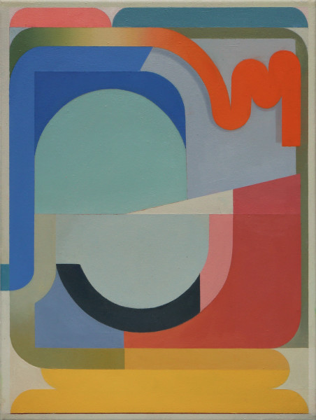 Bernhard Buhmann Jackson, 2019 Oil on canvas 57 x 41 cm 22 1/2 x 16 1/8 in