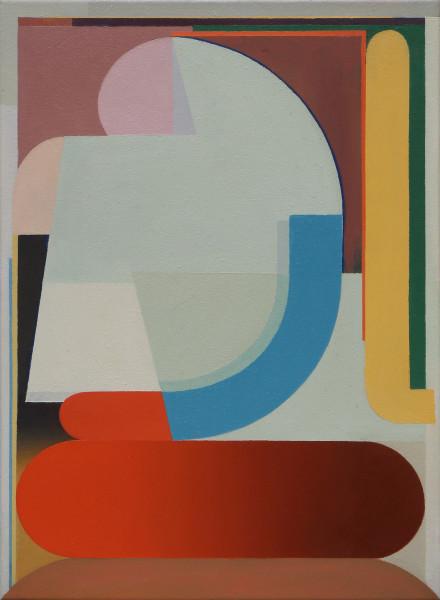 Bernhard Buhmann The Fickle, 2019 Oil on canvas 57 x 41 cm 22 1/2 x 16 1/8 in