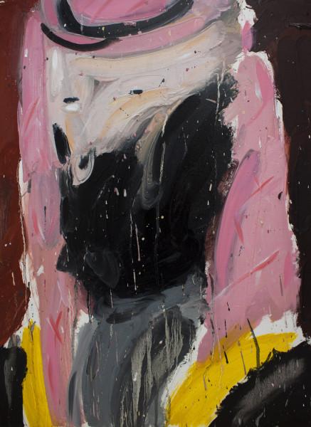 Amir Khojasteh Untitled (Leader #4), 2019 Oil on canvas 53 x 40 cm 20 7/8 x 15 3/4 in