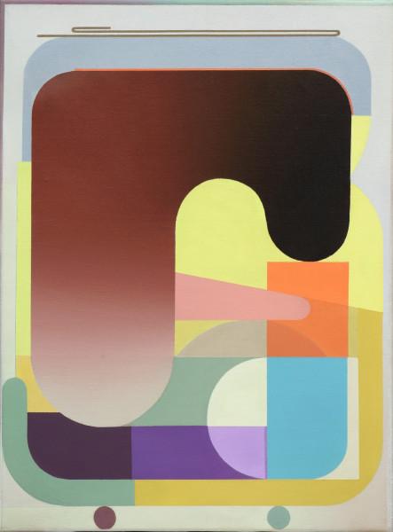 Bernhard Buhmann Der Populist, 2019 Oil on canvas 57 x 42 cm 22 1/2 x 16 1/2 in