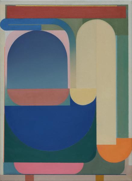 Bernhard Buhmann The Coach, 2019 Oil on canvas 57 x 41 cm 22 1/2 x 16 1/8 in