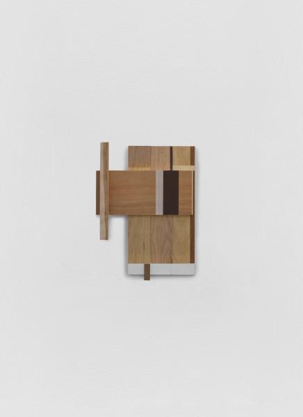 Sarah Almehairi Building Blocks 7, Series 1, 2019 Acrylic on wood 39.5 x 14.5 x 5.5 cm 15 1/2 x 5 3/4 x 2 1/8 in