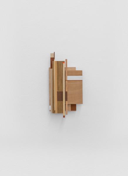 Sarah Almehairi Building Blocks 2, Series 2, 2019 Acrylic on wood 34.2 x 17.6 x 3.8 cm 13 1/2 x 6 7/8 x 1 1/2 in