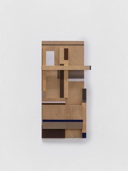 Sarah Almehairi Building Blocks 2, Series 1, 2018-2019 Acrylic on wood 70.5 x 30.5 x 4.6 cm 27 3/4 x 12 1/8 x 1 3/4 in
