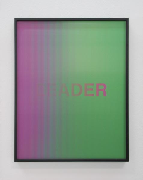 Anahita Razmi LEADERS/DEALERS (Magenta/Green), 2018 HD lenticular print 50 x 40 cm 19 3/4 x 15 3/4 in Edition of 3 + 1 AP