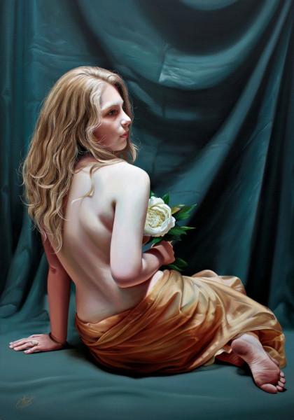 Christiane Vleugels, White rose