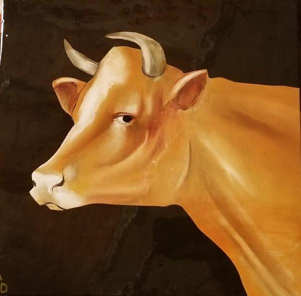 Matthew Dennison, Vosgienne (Cow), 2019