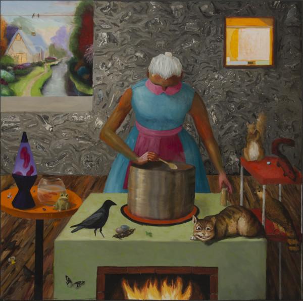 Katherine Ace, Making Soup, 2016