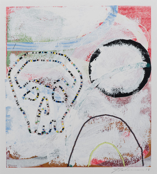 Joe Feddersen, Skull, 2018