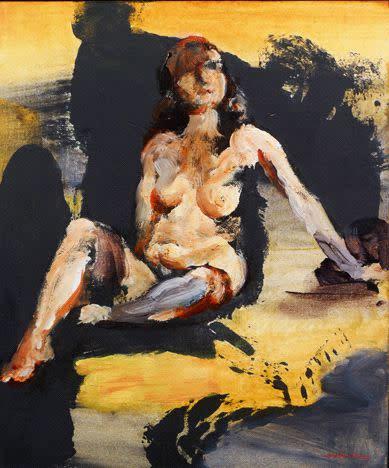 Kevin Kadar, Figure Painting 1343, 2011