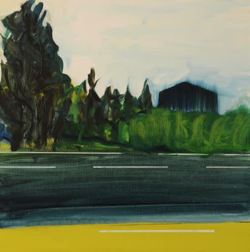 Ritsuko Ozeki, Landscape- Road, 2015
