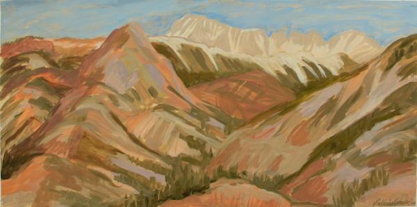 Kay WalkingStick, Sierra Nevada Mountains I, 2014