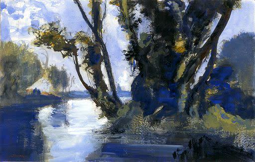 Kevin Kadar, Louisiana River, 2009